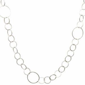 Silberkette rund verschiedene Größen schmal