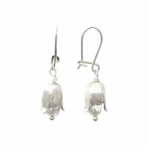 Ohrhänger Maiglöckchen mit Perle