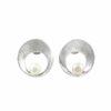 Silberohrstecker Kreis mit Perle