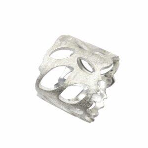 Ring mit durchbrochenen Ovalen durchgehend