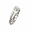 Ring mit 3 matierten Ringen Silber