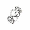 Ring offener Kreis Silber