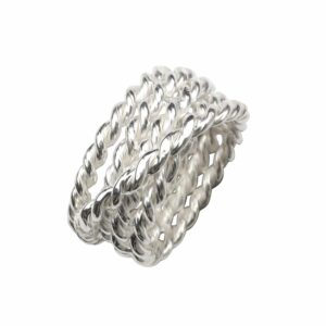 Ring aus mehreren Seilen