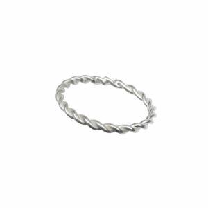 Ring wie Seil schlicht