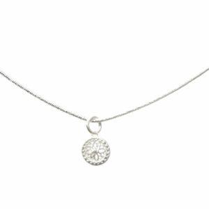 Anhänger Mandala Silber