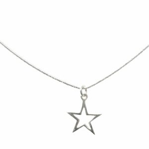 Sternanhänger Silber