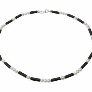 Perlenkette mit Lavastiften