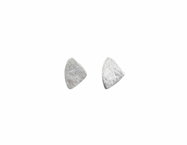 Silberohrstecker Silbersegel