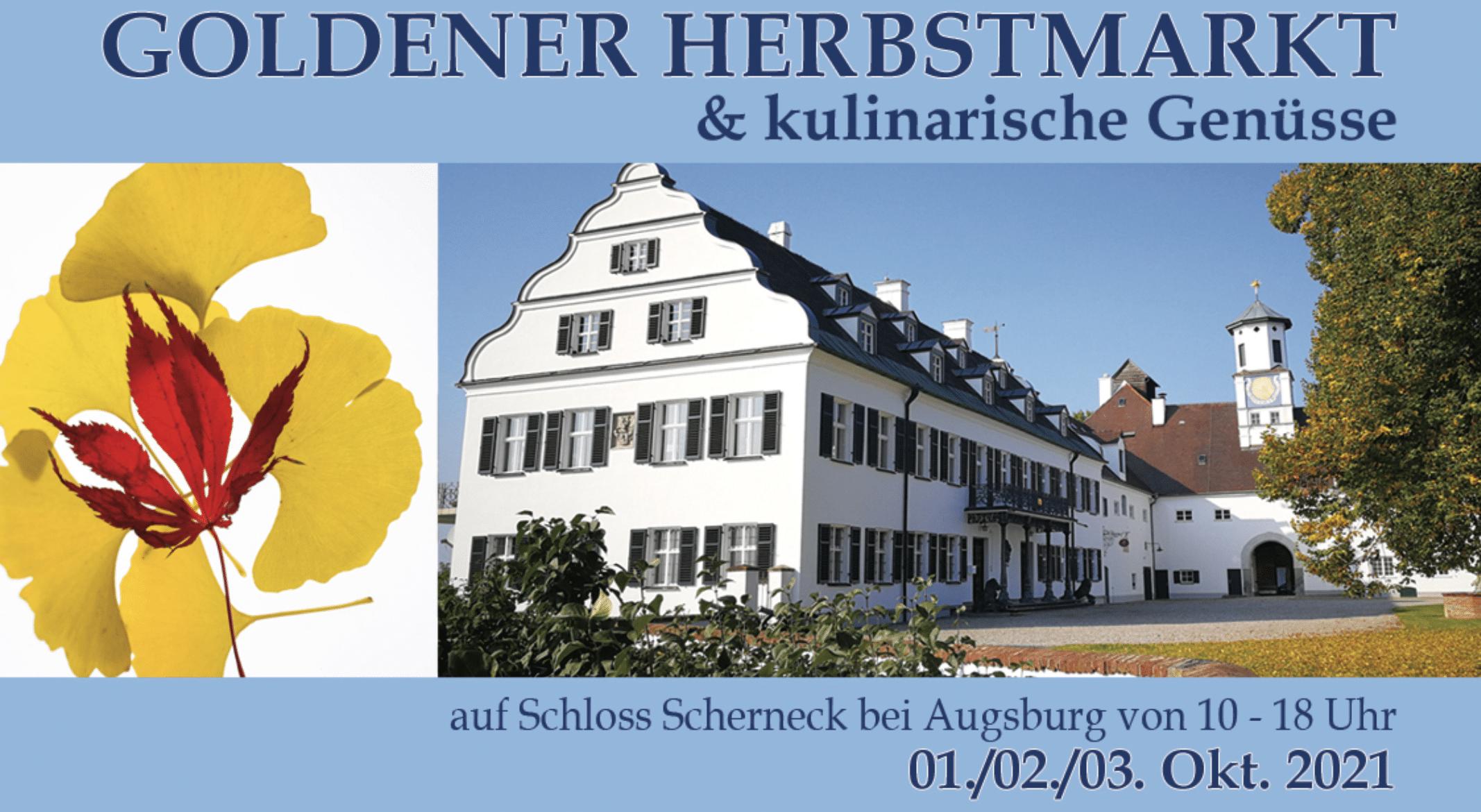 Herbstmarkt Schloss Scherneck bei Augsburg